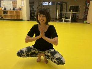 9月18日(土)CHIHIRO先生のいパワーヨガクラスです!